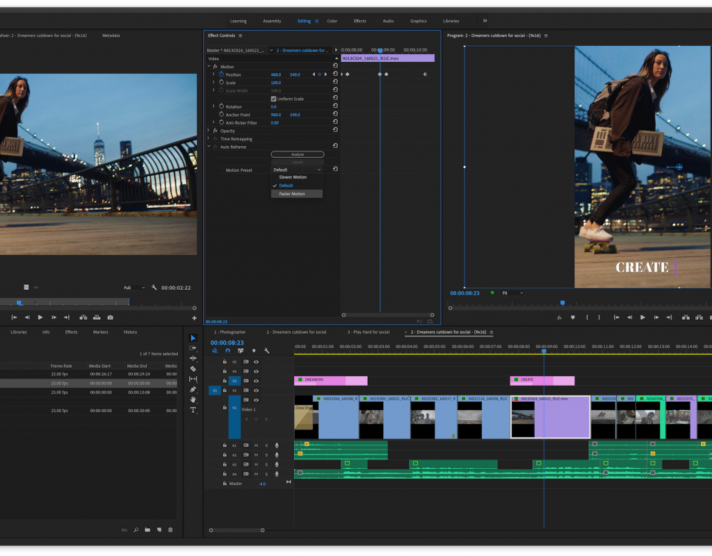 The November 2019 release of Adobe Premiere Pro and the other Adobe Video Apps is here 1