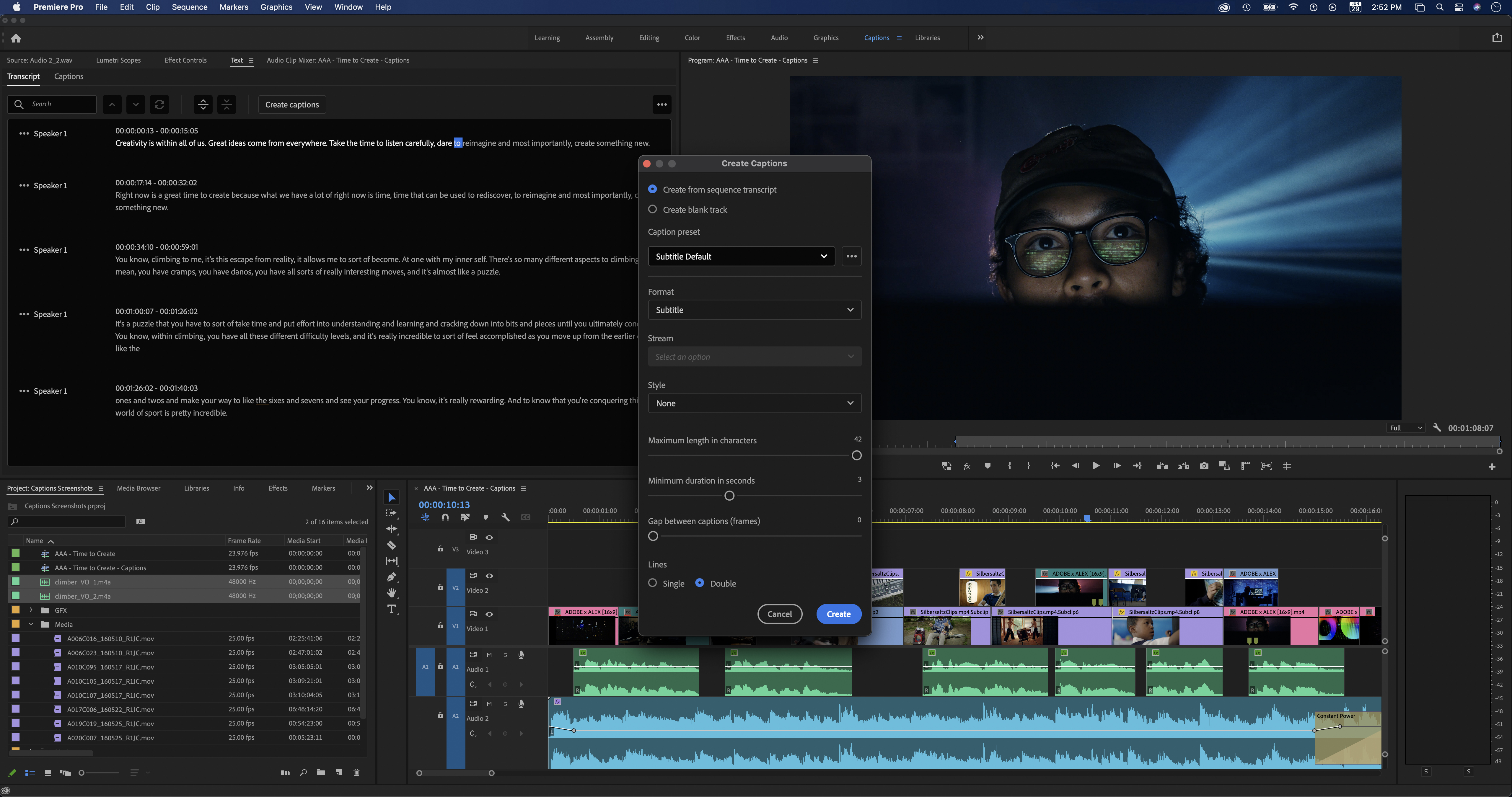 Adobe video July release: Speech to Text + Native M1 in Premiere Pro, Speculative Preview beta for After Effects 8