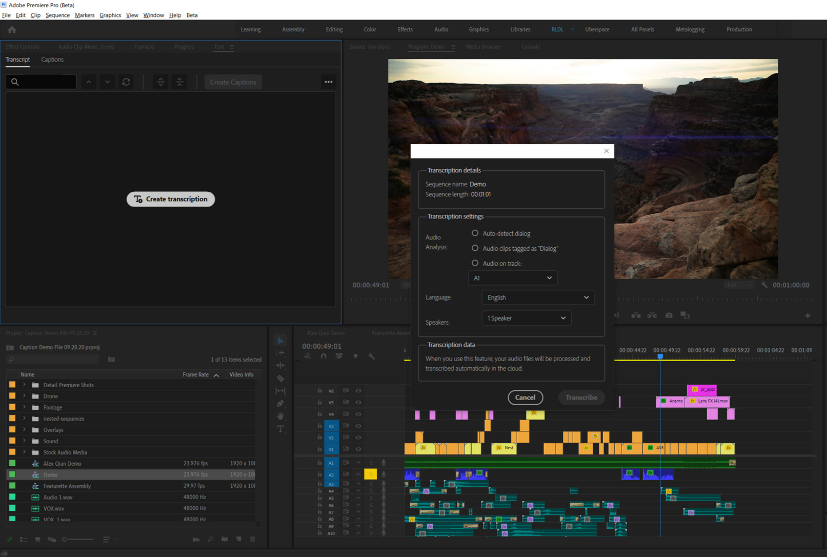What's new in Adobe Premiere Pro from Adobe Max? Transcriptions and captions by Scott Simmons - ProVideo Coalition