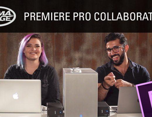 Premiere Pro Collaboration and LumaForge 5