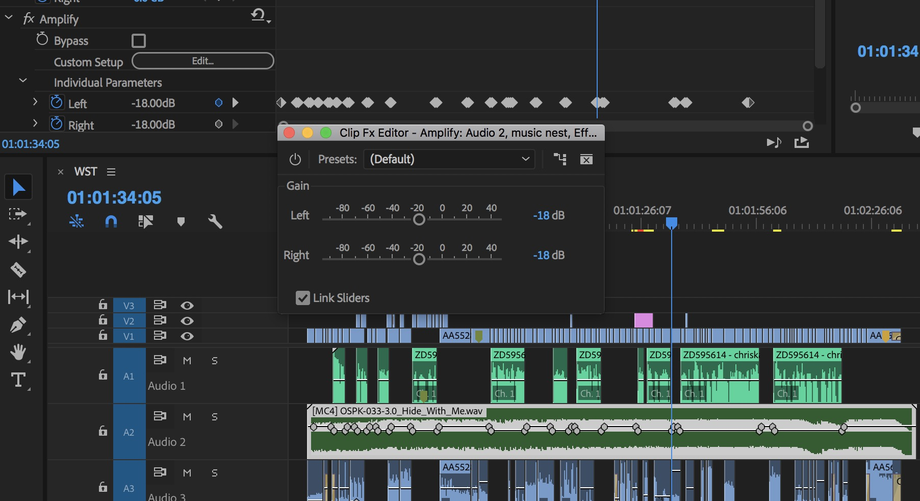 Adobe Premiere Pro amplify effect
