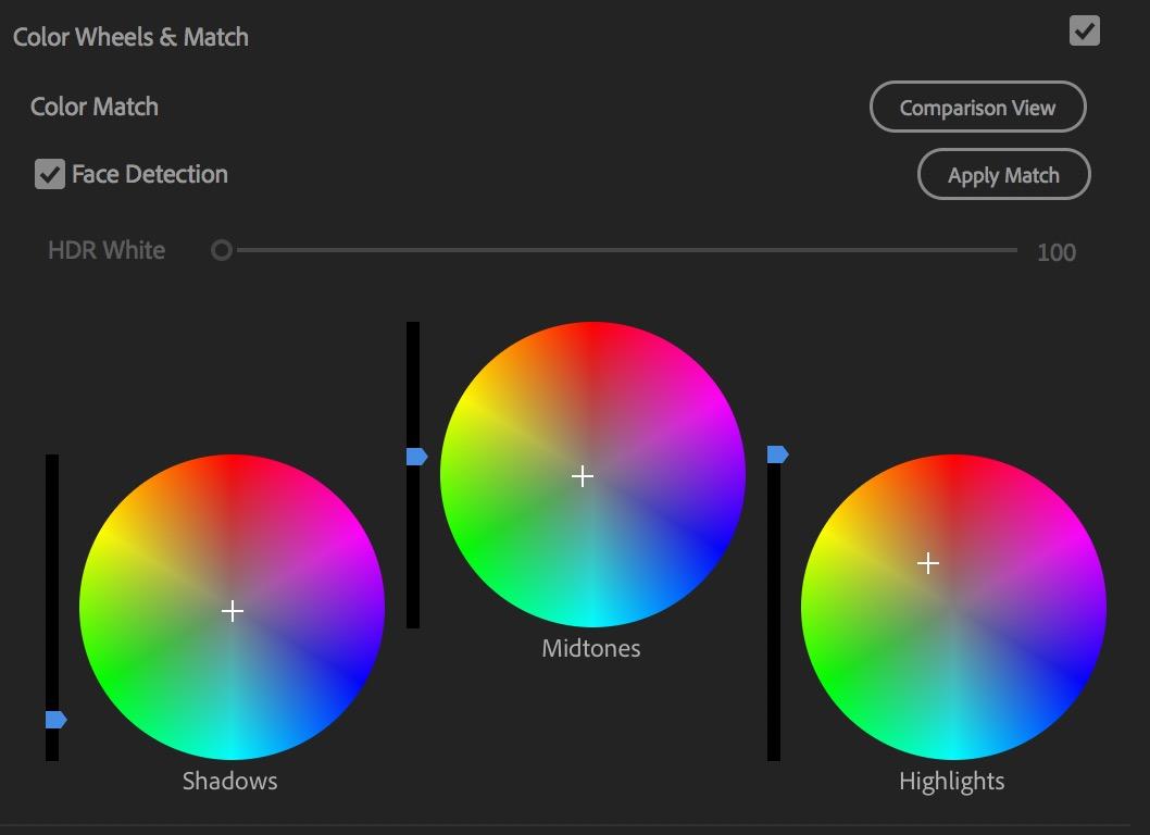 Adobe Premiere Pro color match