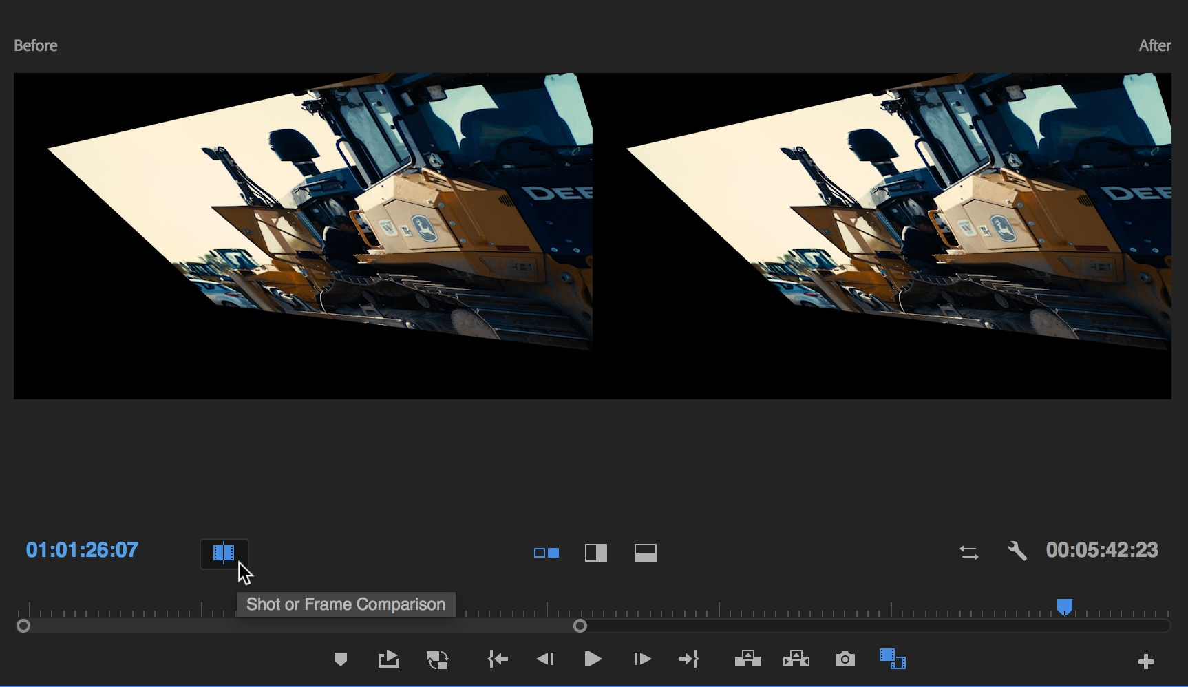 Adobe Premiere Pro 2018 NAB Update: Comparison View, Color Match and Timecode 9