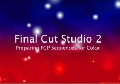 Preparing FCP Sequences for Color