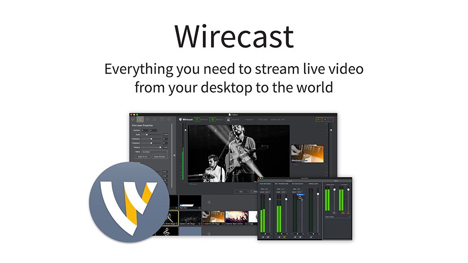 Review – Wirecast Pro 7 from Telestream