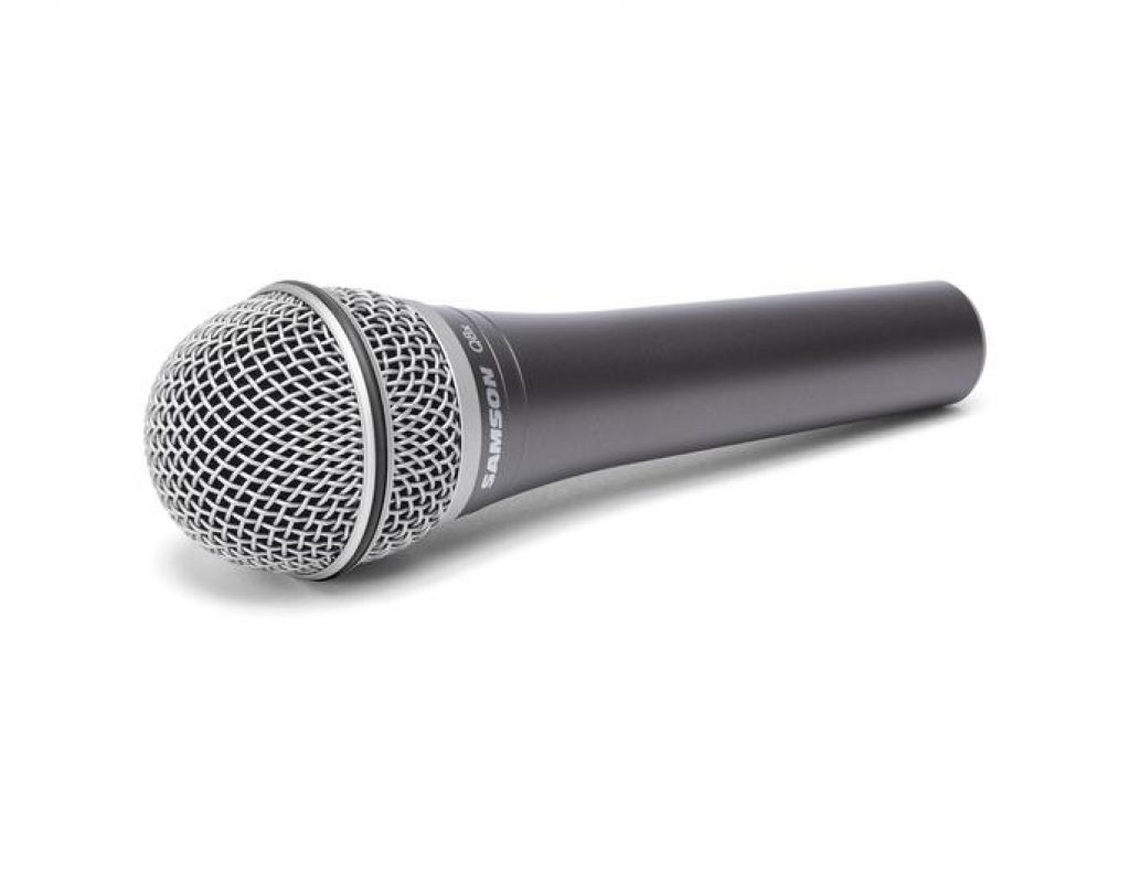 Review: Samson Q8X supercardioid dynamic handheld microphone, headless with A81WS 1