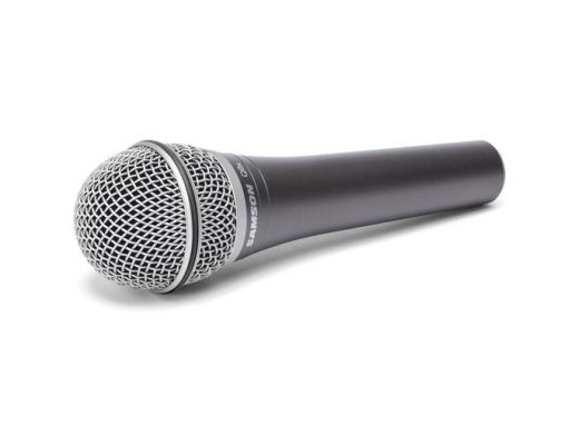 Review: Samson Q8X supercardioid dynamic handheld microphone, headless with A81WS 73