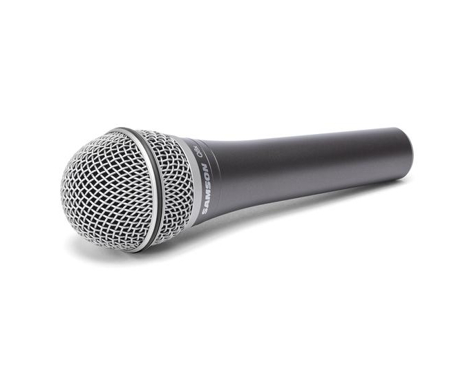 Review: Samson Q8X supercardioid dynamic handheld microphone