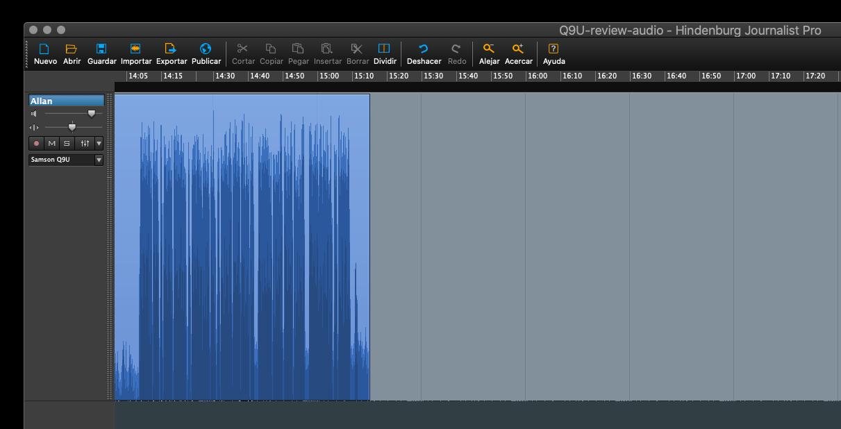 Review: Samson Q9U studio dynamic hybrid mic with A7WS windscreen 30