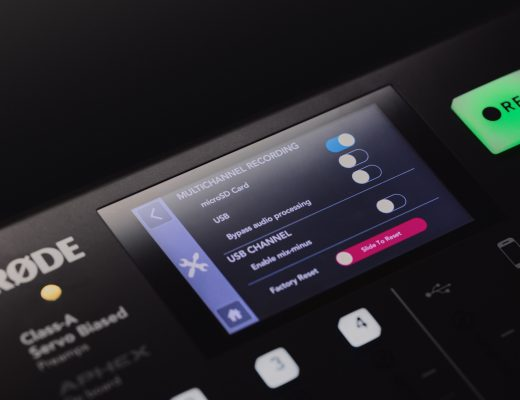 RØDECaster firmware 1.2.0 adds multitrack polyWAV to microSD + more 16