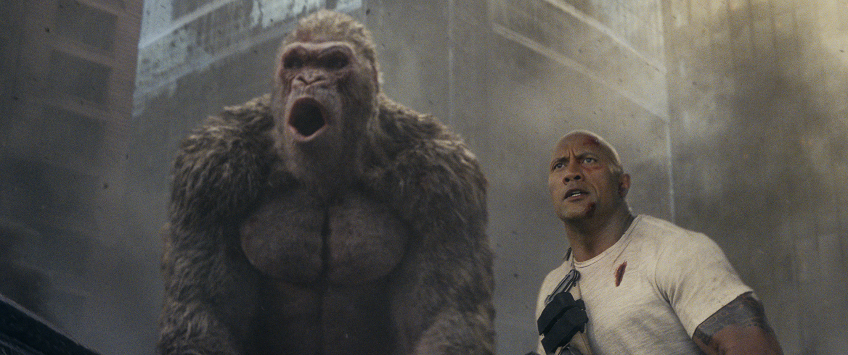 "ART OF THE CUT with ""Rampage"" editors Jim May and Bob Ducsay 11"