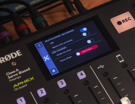 RØDECaster adds USB mix-minus & multitrack 19