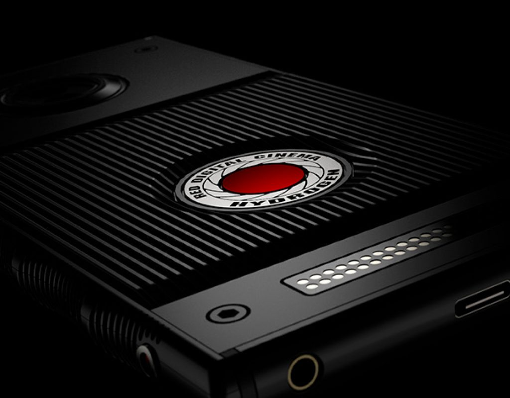 RED introduces HYDROGEN ONE, an holographic smartphone