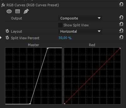 RGB Curves Settings