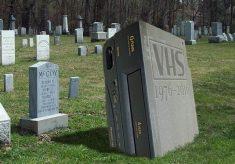 R.I.P., VHS VCRs