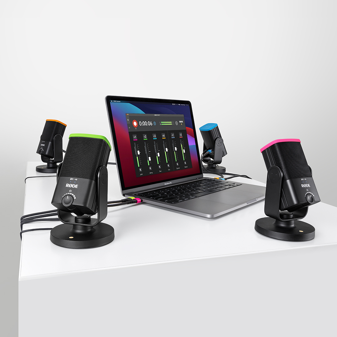 RØDE Connect software is almost a free RØDECaster Pro 3