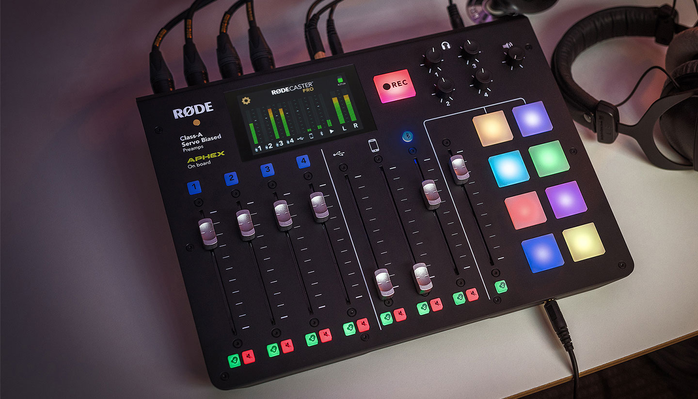 RØDECaster Pro to add multitrack via firmware update 7