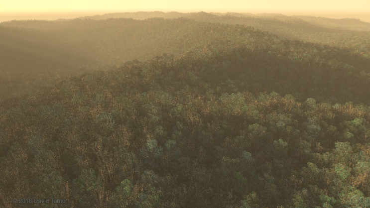 Redshift3D Forest by David Torno - ProVideo Coalition