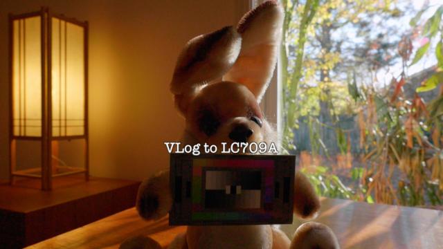 Barney, V-Log L, LUTCalc LC709A LUT