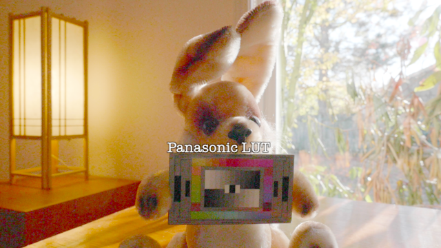 Barney, V-Log L with panasonic LUT, boosted