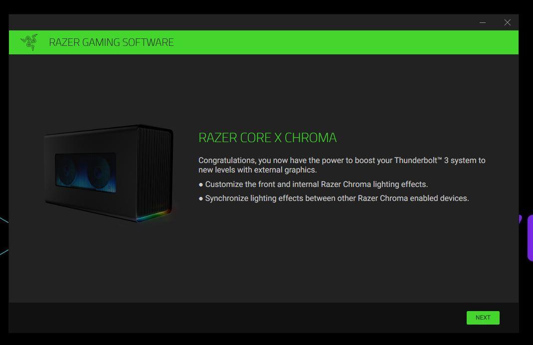 Core X Chroma Detection