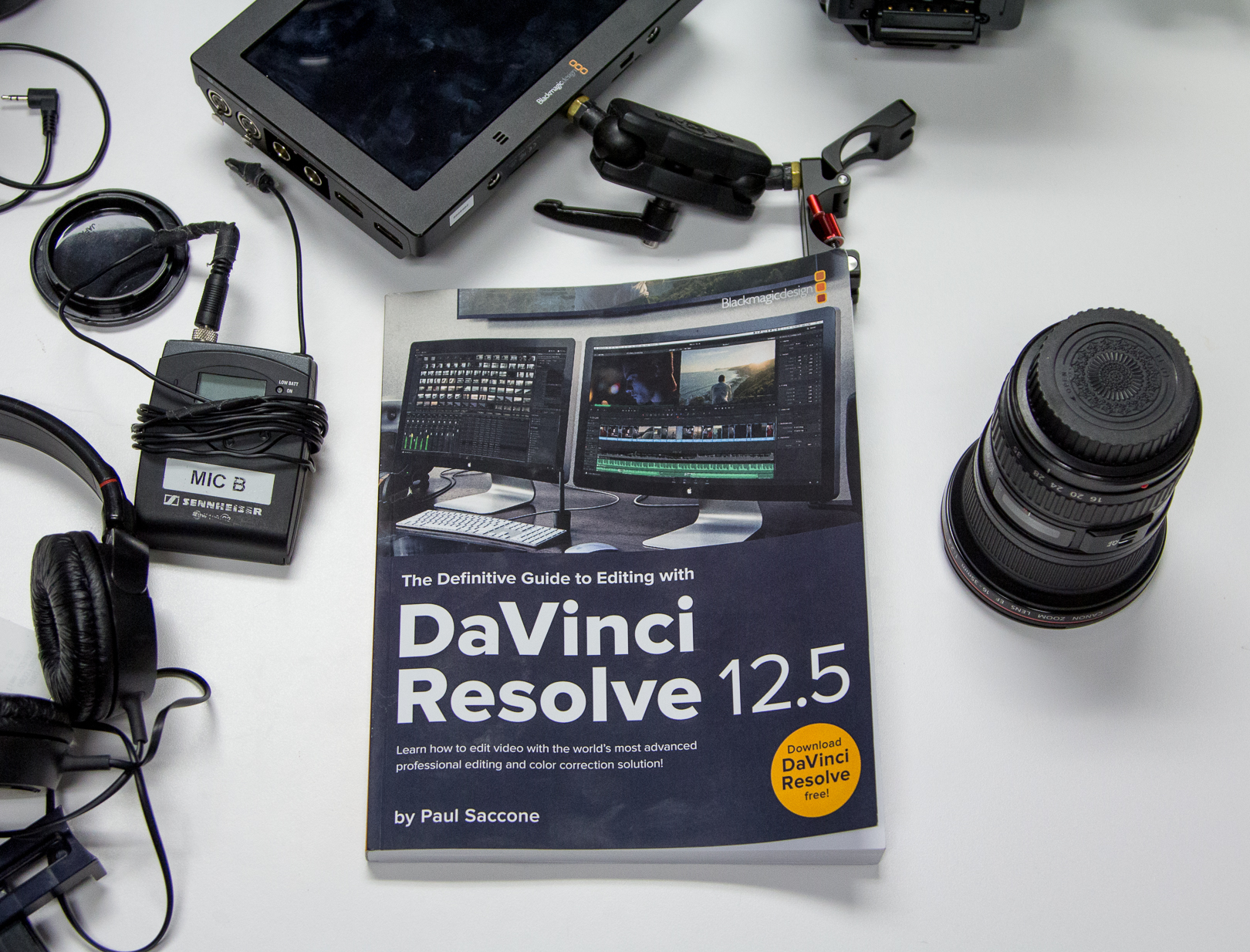 DaVinci Resolve 12.5 Editing Book Review