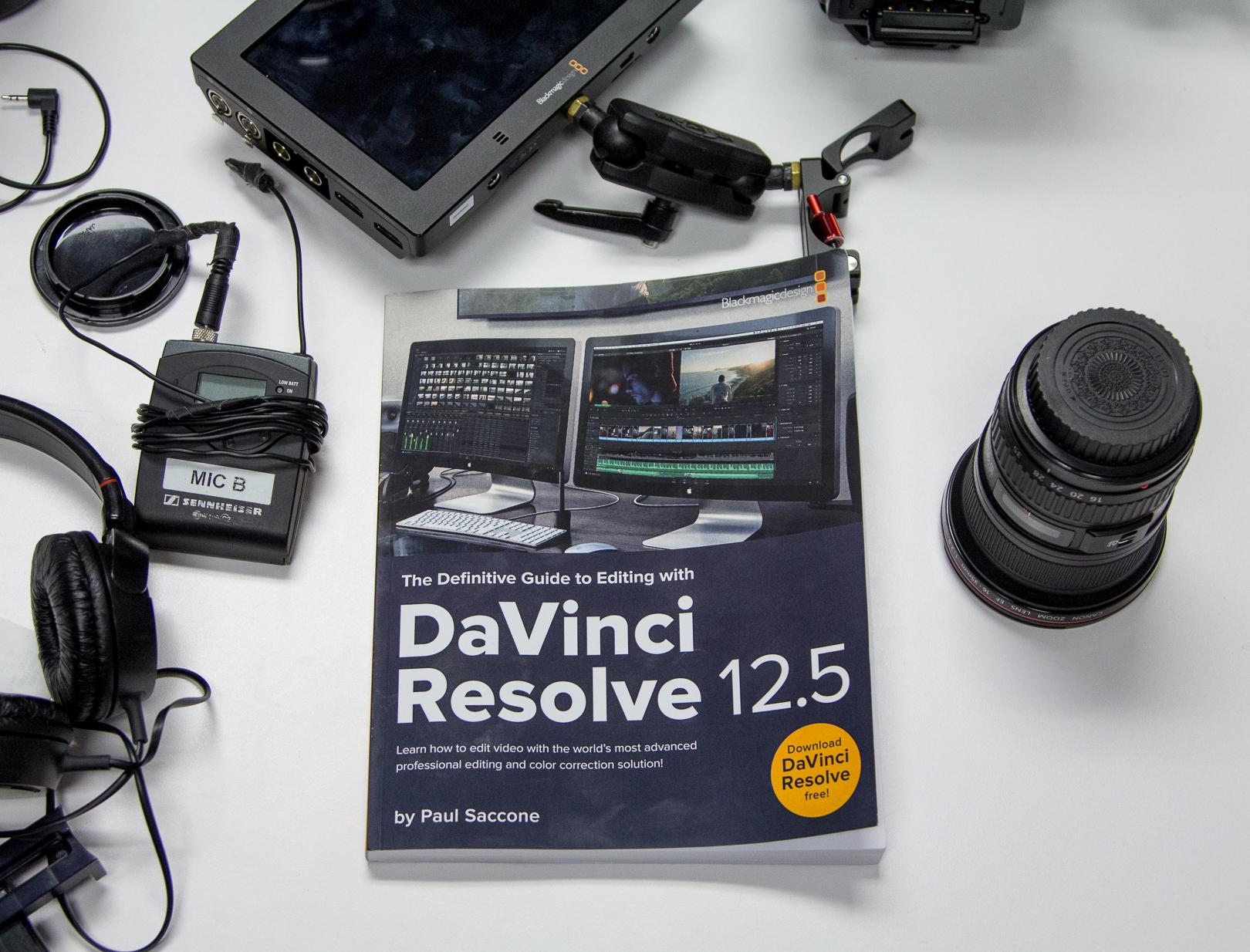 DaVinci Resolve 12.5 Editing Book Review 22
