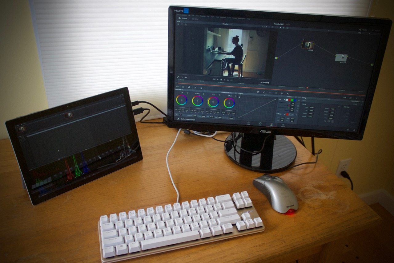Surface Pro Davinci Resolve