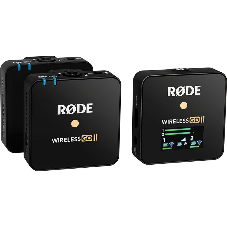 First look: RØDE Wireless Go II dual microphone/recorder system 5