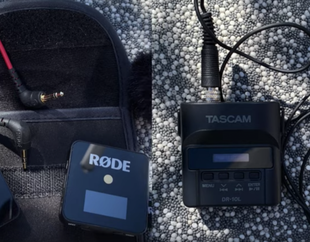 Rode Wireless Go vs.Tascam DR-10L 1