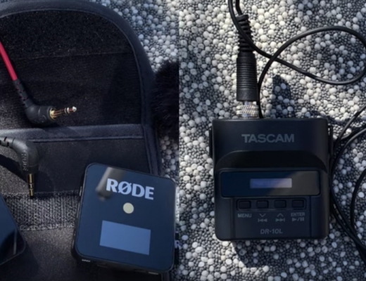 Rode Wireless Go vs.Tascam DR-10L 4