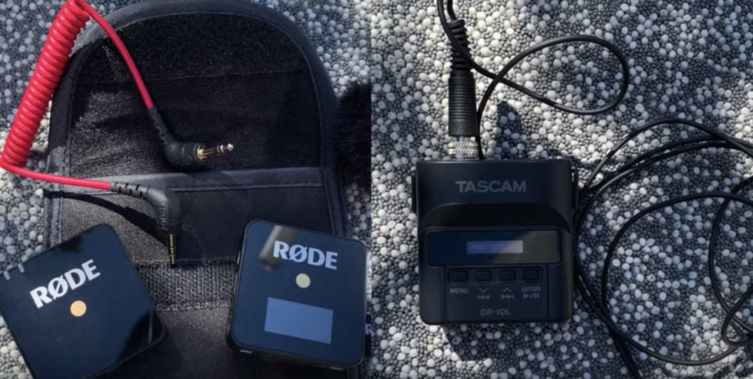Rode Wireless Go vs.Tascam DR-10L