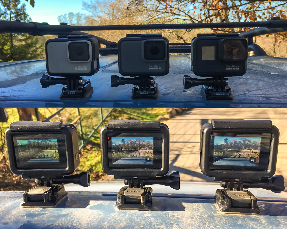 GoPro HERO7 Black, Silver and White Comparisons 13