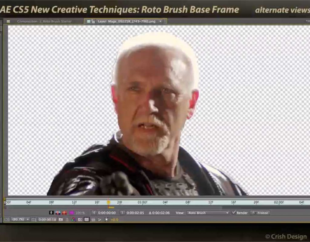 After Effects Roto Brush