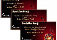 Sonicfire Pro 5 with After Effects CS5 Workflow Video Tutorials