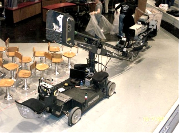 Camera Cranes From the Beginning: 11