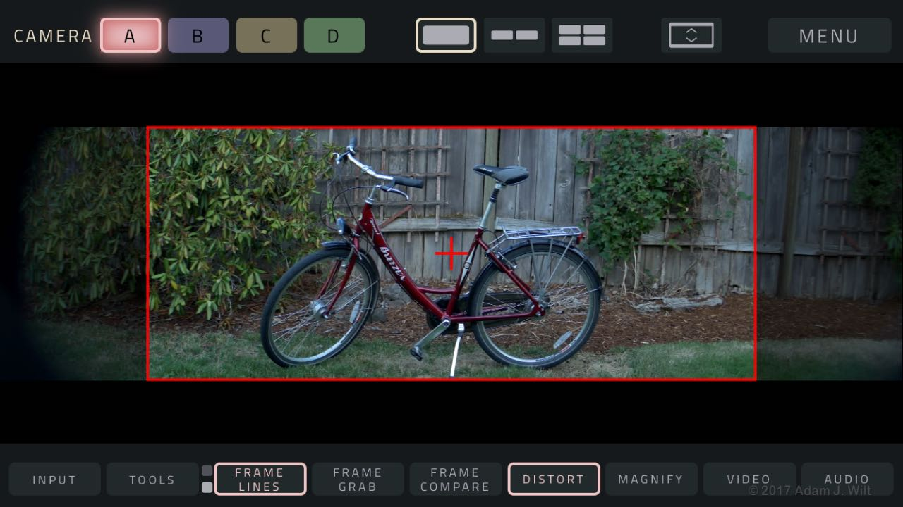 The result: 2.0x anamorphic with 2.39:1 framing