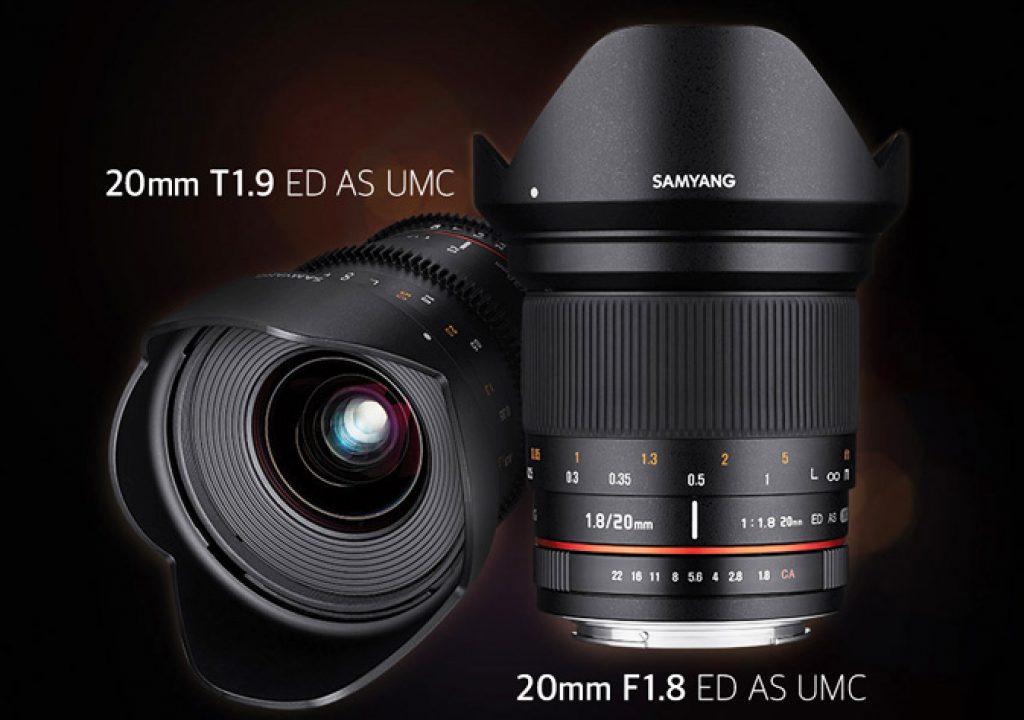 Samyang: a new 20mm T1.9 Cine lens 1