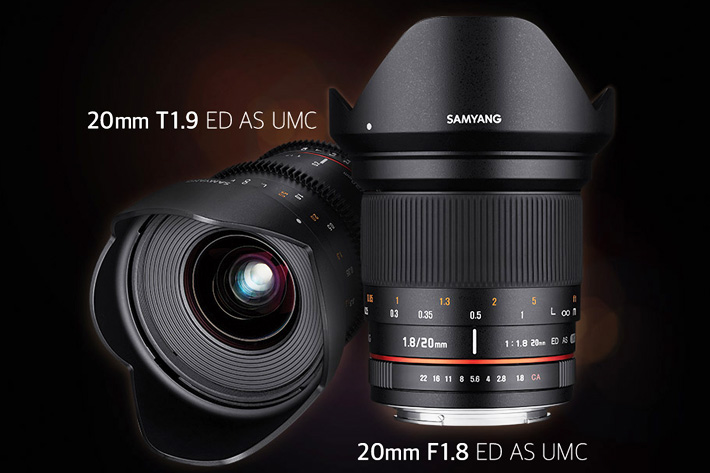 Samyang: a new 20mm T1.9 Cine lens 1