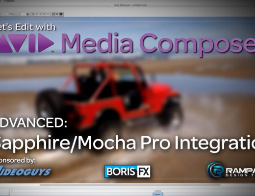 Let's Edit with Media Composer - Sapphire/Mocha Integration 5