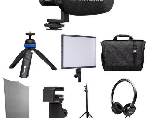 Review: Saramonic HomeBase3 kit with background, light, microphones and more 8