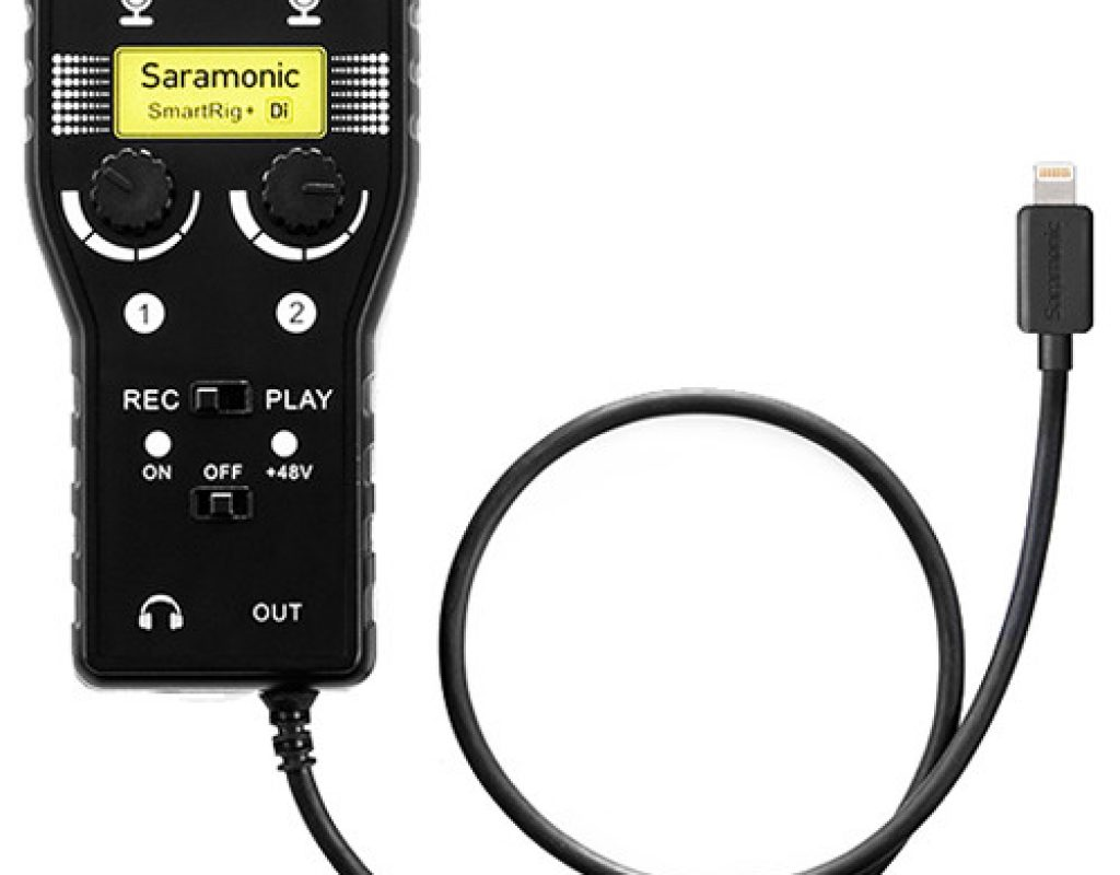 First look: Saramonic SmartRig+ audio interfaces for USB-C or Lightning 5