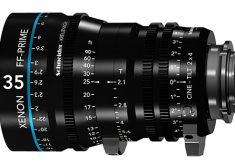 New Xenon FF-Prime Cine-Tilt Lenses