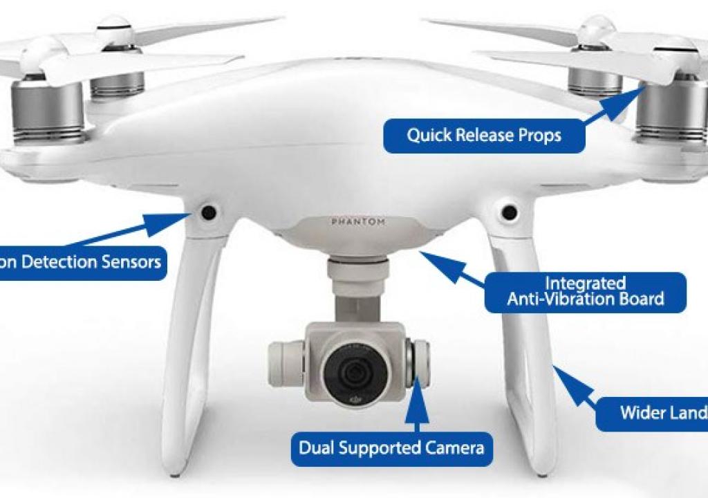 DJI Phantom 4 quadcopter for Indie Filmmakers 1