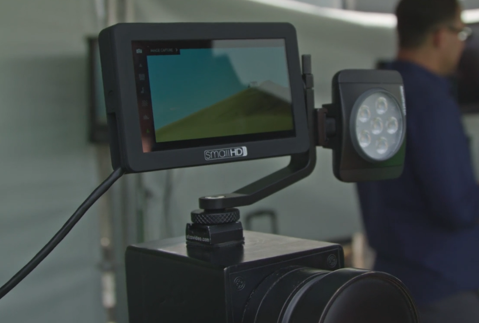 smallhd announces new focus 5 monitor nab 2017 video. Black Bedroom Furniture Sets. Home Design Ideas
