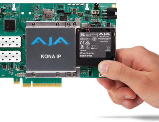 AJA Kona IP Card and Workflow: NAB 2017 Video