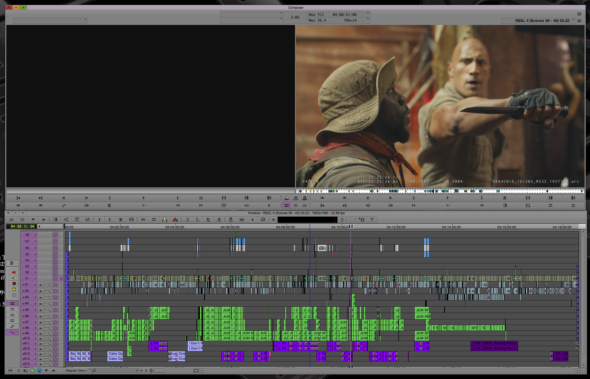 ART OF THE CUT on editing JUMANJI: Welcome to the Jungle 15