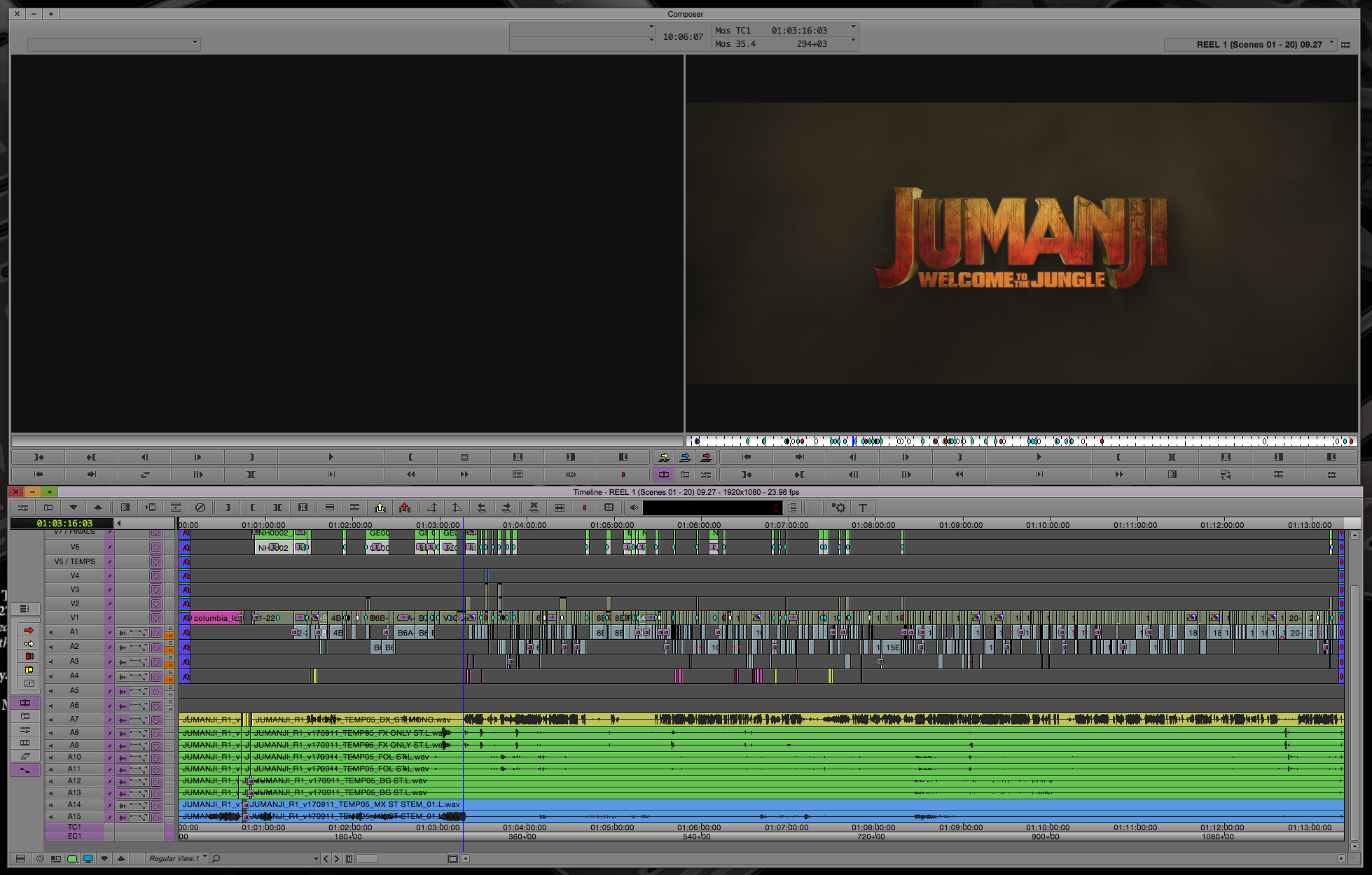 ART OF THE CUT on editing JUMANJI: Welcome to the Jungle 12