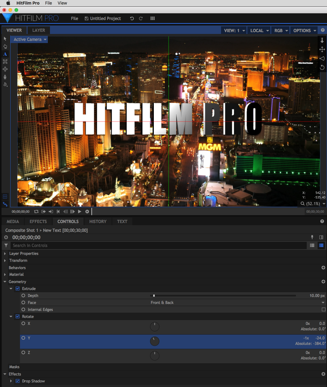 New Text Features in HitFilm Pro 2018