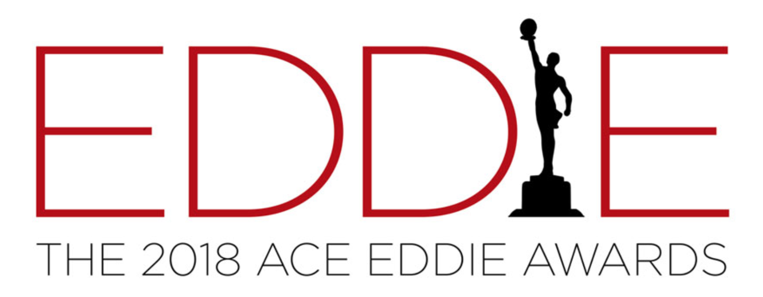 ART OF THE CUT congratulates the 2018 Eddie Nominees 6
